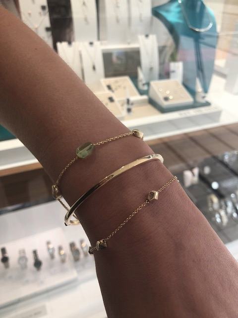 clark collection gold bracelets