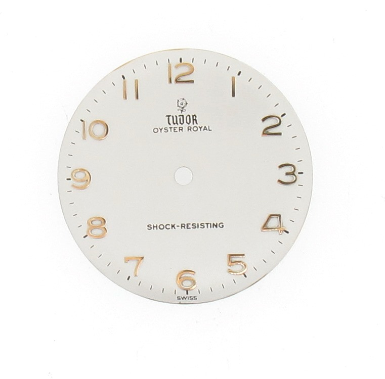 restored tudor watch dial