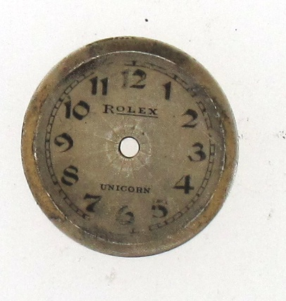 old rolex dial