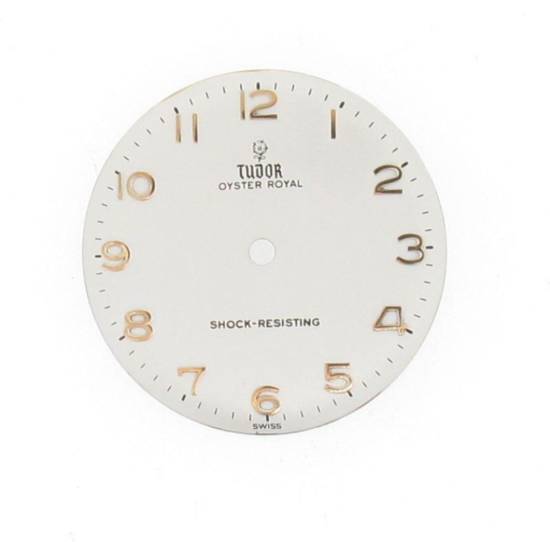 Tudor watch dial restored