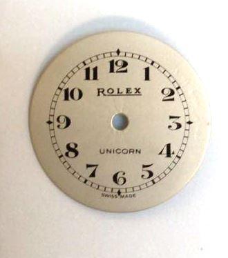 restored rolex watch dial