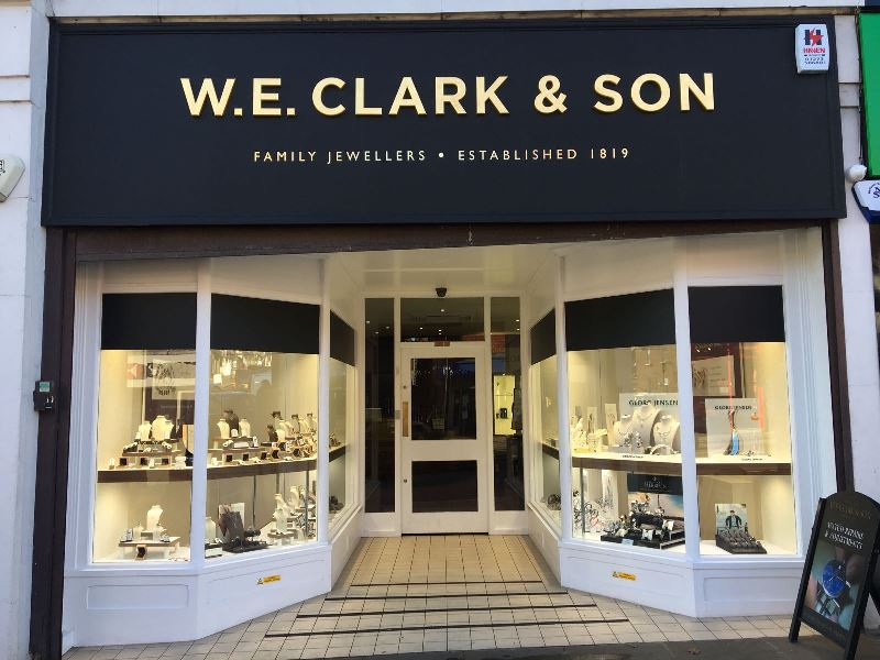 W.E. Clark and Son Uckfield shop