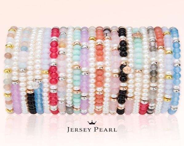 Jersey pearl bracelets