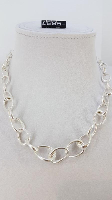 Georg Jensen silver necklace