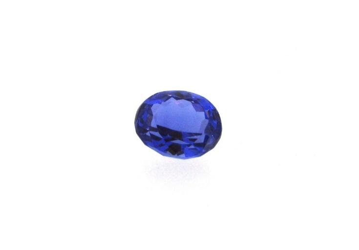 Loose tanzanite gemstone