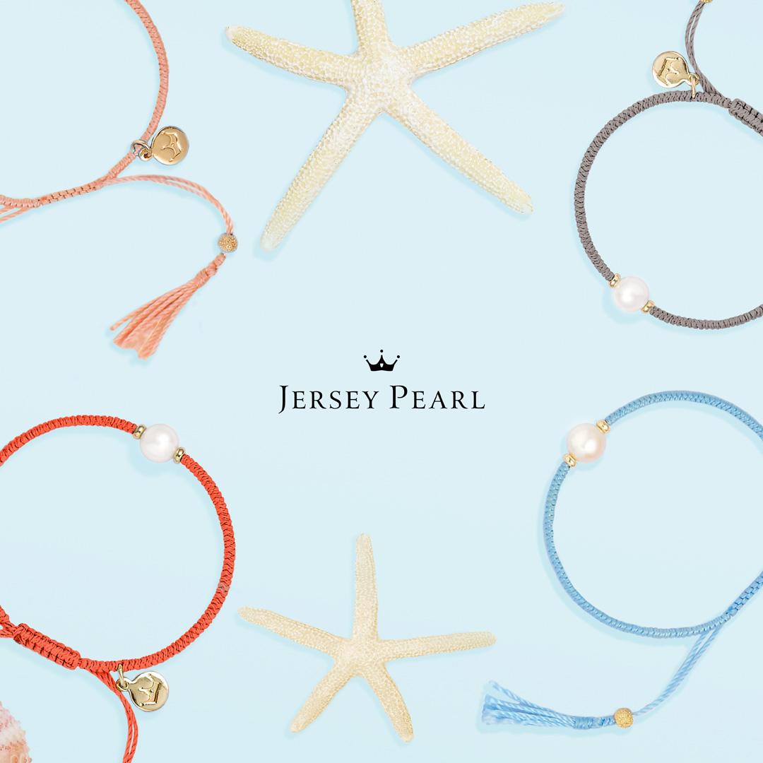 Jersey Pearl Cord Bracelets