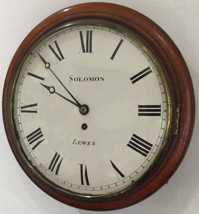 W.E Clark & Son- Solomon Clock