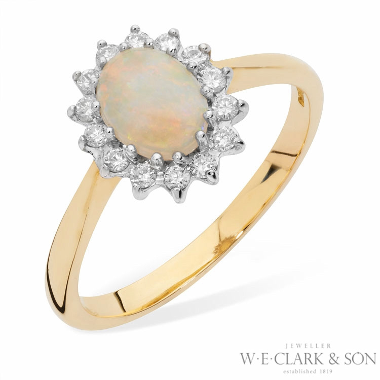 Clark Collection Opal Ring