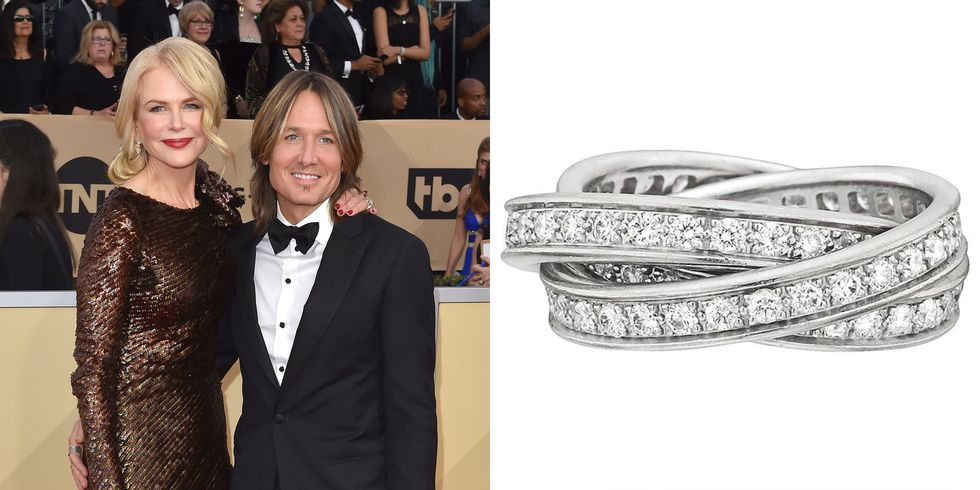 Nicole Kidman push present ring