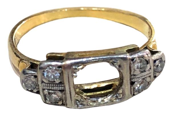 Sapphire Ring Restoration