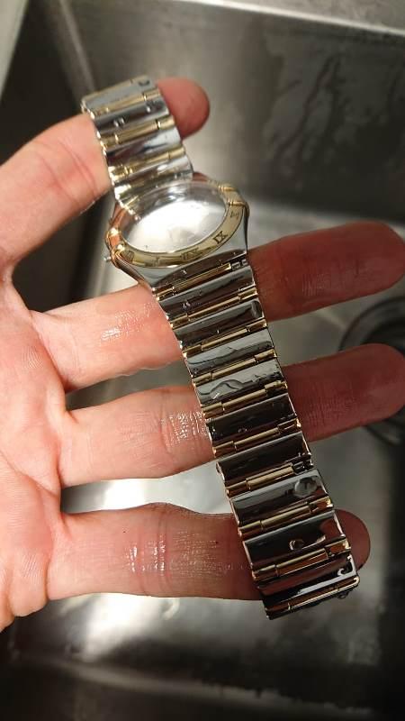 ultrasonic cleaned watch strap