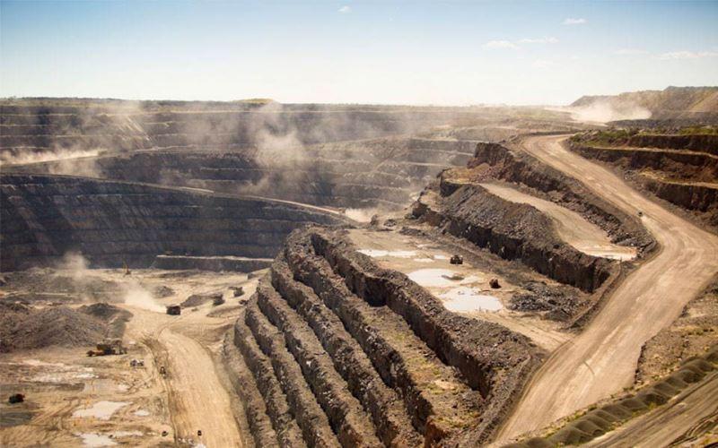 South African diamond mine